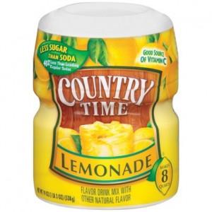 Country Time- Lemonade 538g |