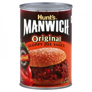 Manwich Original Sloppy Joe Sauce 425g |