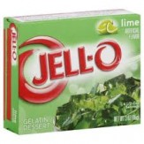 Jell-O Dessert 85g Lime DATED