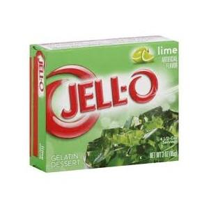 Jell-O Dessert 85g Lime DATED |