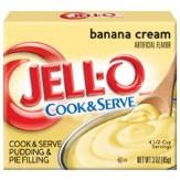 Jell-O Cook n Serve 96g Banana Cream