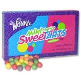 Wonka Mini Chewy Sweetarts 106.3g DATED STOCK