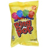 Ring Pops Bag of 4 Mixed Flavours