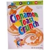 Cinnamon Toast Crunch Cereal: 345g