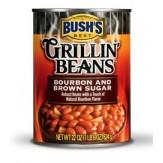 Bush's Grillin' Beans Bourbon & Brown Sugar 624g