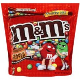 M&M's Peanut Butter PARTY SIZE Bag 1077.3g