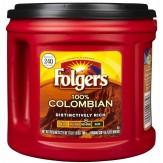 Folgers Coffee 100% Colombian Medium Dark 686g
