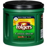 Folgers Coffee Classic Decaf Medium 865g