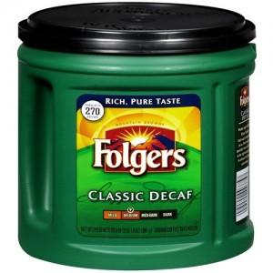 Folgers Coffee Classic Decaf Medium 865g |