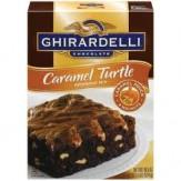 Ghirardelli Caramel Turtle Brownie Mix 524g