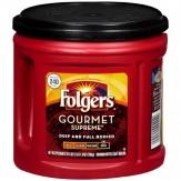 Folgers Coffee Gourmet Supreme Dark  686g