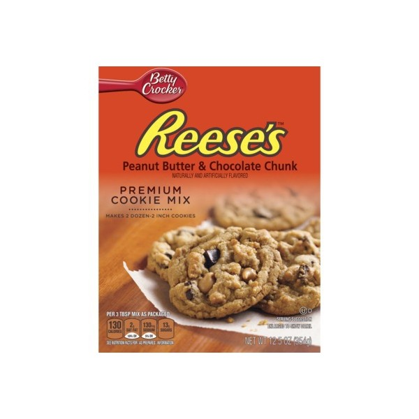 ... Cookie Mix- Reese's Peanut Butter & Chocolate Chunk 354g - USA Foods