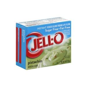 Jell-O Instant Pudding & Pie Filling Pistachio 28g SUGAR FREE  