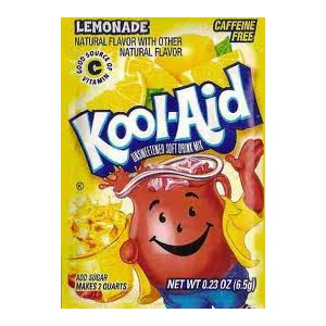 Koolaid- Lemonade |