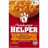 Hamburger Helper-Deluxe Cheeseburger Macaroni 155g