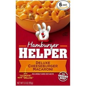 Hamburger Helper-Deluxe Cheeseburger Macaroni 155g |