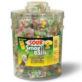 Toxic Waste Sour Smog Balls Tub 120pkts