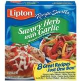 Lipton Savory Herb With Garlic Soup & Dip 2 Pack 68g