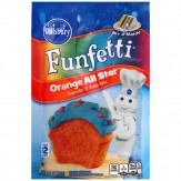Pillsbury Funfetti Cake & Cupcake Mix-Orange All Star  234g