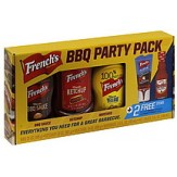 Frenchs BBQ PARTY PACK-WOW