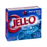 Jell-O Dessert 85g Berry Blue
