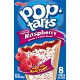 Poptarts Frosted Raspberry 8 pack - 416g