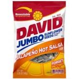 David Sunflower Seeds Jumbo Jalapeno Hot Salsa 149g