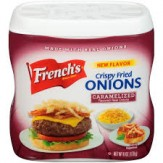 French's French Fried Onions Caramelized  170g