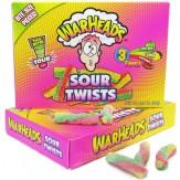 Warheads Sour Twists T/Box 99g