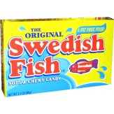 Swedish Fish T/Box 88g -Red