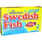 Swedish Fish T/Box 88g -Red