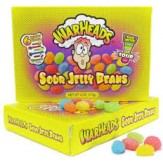 Warheads Sour Jelly Beans T/Box 113g