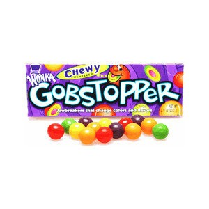 Wonka Chewy Gobstopper 106.3g |