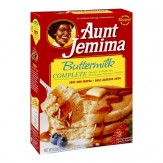 Aunt Jemima Pancake & Waffle Mix Complete -Buttermilk 907g