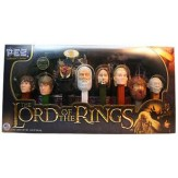 PEZ The Lord Of The Rings Collector Set- slight box damage