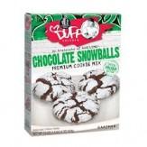 Duff Premium Cookie Mix -Chocolate Snowballs 624g DATED STOCK