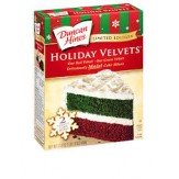 Duncan Hines Holiday Velvets  500g DATED STOCK
