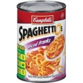 Campbell's SpaghettiOs Sliced Franks 443g
