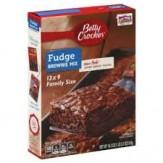 Betty Crocker Brownie Mix -Fudge 519g