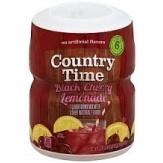 Country Time Black Cherry Lemonade 521g