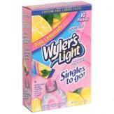 Wylers Singles To Go -Pink Lemonade 8 pk
