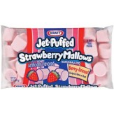 Kraft Jet-puffed Strawberry Mallow Bites  226g