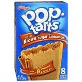 Poptarts Frosted Brown Sugar Cinnamon 8 pack- 397g