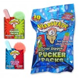 Warheads Sour Dippin Pucker Packs 10 ct 84g