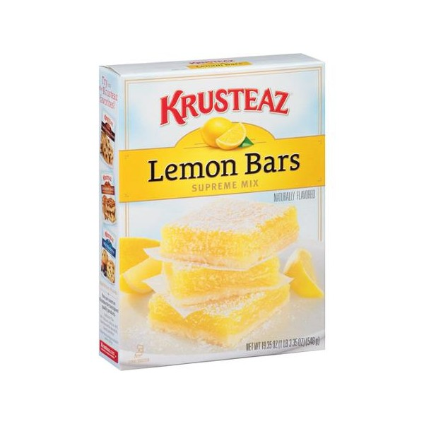 krusteaz meyer lemon bars mix 538g krusteaz meyer lemon bars mix 538g ...