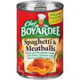 Chef Boyardee  Spaghetti & Meatballs 411g