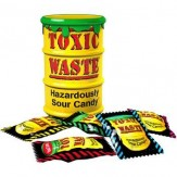 Toxic Waste Hazardously Sour Candy Drum 48g