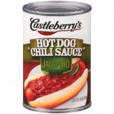 Castleberry's American Hot Dog Chili Sauce Jalapeno Spicy 283g