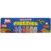 Kisko Giant Freezies 5.5 oz 50 ct
