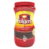 Folgers Instant Coffee Crystals- Classic Roast 453g